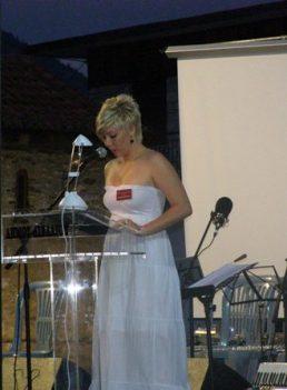 Γιούλα Μίχου: Παρουσιάστρια της εκδήλωσης