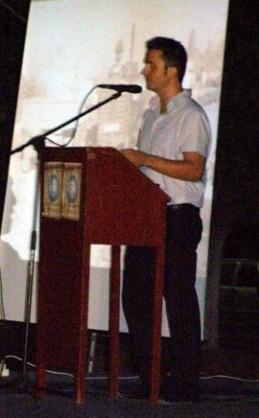Βαγγέλης Τσακνάκης -Παρουσιαστής της εκδήλωσης