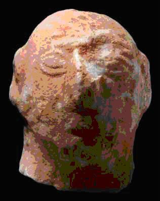 Εικόνα 5: © Ίδρυμα Ν.Π. Γουλανδρή - Μουσείο Κυκλαδικής Τέχνης. Συλλογή Ν.Π. Γουλανδρή, αρ. 259 Κεφαλή ειδωλίου 9,7 εκ.