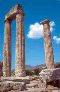 Εικ. 1 Ο ναός του Διός στη Νεμέα 330 π.Χ. (Φωτ. Τουριστικές διαδρομές)