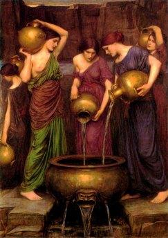 Ικέτιδες, Τζον Γουίλιαμ Γουότερχαουζ, 1903