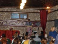 Ο Πρόεδρος του Πολιτιστικού Συλλόγου Δολίχης Στέργιος Μίχος