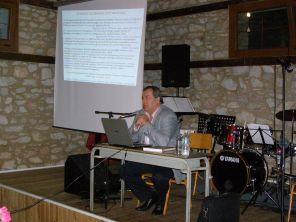 Ο Γιώργος Λεκάκης στο Φεστιβάλ