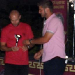 Την 3η θέση κατέλαβε ο Νίκος Γκουτζουρέλας, με χρόνο 17:23 (βραβεύτηκε από τον Γ. Γραμματέα του Συλλόγου Σταύρο Θεοδωράκη)