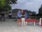 Βιργινία Τσακνάκη (Δολίχη), κατέλαβε την 1η θέση στην κατηγορία Γυναικών με χρόνο24:19,15