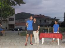 Αναστάσιος Ροβυθάκης (Κοζάνη), κατέλαβε την 1η θέση με χρόνο 17:30,49, βράβευση από τον βουλευτή Λάρισας Γιώργο Κατσιαντώνη